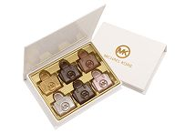 6 Piece Box of Custom Shaped Chocolates