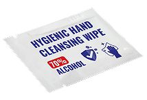 Antibacterial Hand Wipe Sachet 70 Percent Alcohol