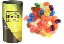 Tubes of Gourmet Jelly Beans