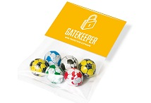Corporate Chocolate Gifts Footballs Info Card