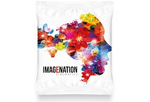 Flow Bag of Two Maryland Cookies Digital Print