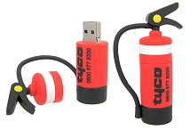 Fire Extinguisher Custom USB