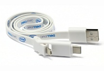Flat 3 in 1 USB Charging Cable