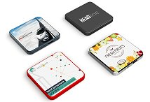 Flat Square Wireless Mobile Charger
