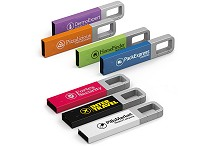 Hook Clip Branded Flash Drive