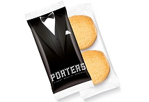 Biscuits 2 Mini Shortbread Digital Print Flow Bag
