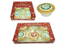 Logo Printed Mince Pie Packs
