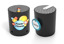 Pop Printed Logo Bluetooth Speaker