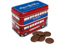 Milk Chocolate Buttons in a Bus Tin