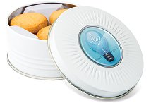Tins of Biscuits Shortbread in Sunray Treat Tin