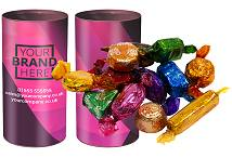 Tubes of Quality Street