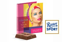 Promotion Card with Ritter SPORT Mini