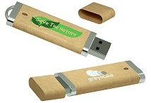 USB Flash Drive in Recycled Plastic