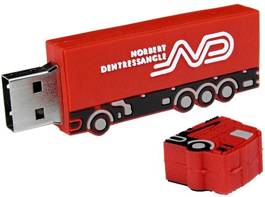 Bespoke USB Stick Lorry open