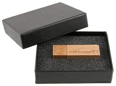 Black Cardboard Presentation Box
