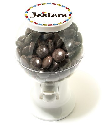 Branded Chocolate Bean Dispenser Jesters
