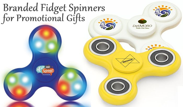 Branded Fidget Spinners for Promotional Gifts