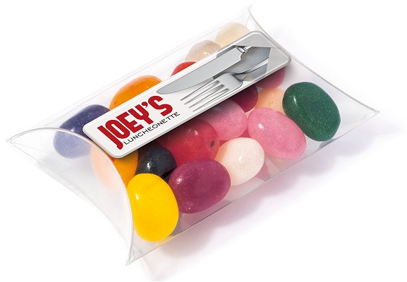 Branded Jelly Beans Small Pouch All colour choices available