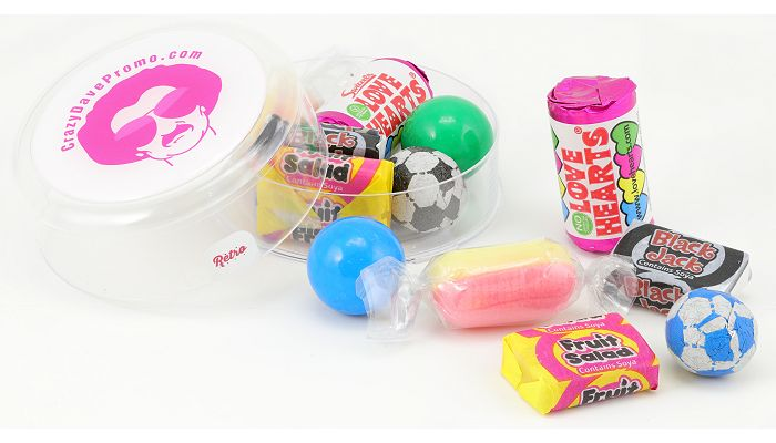 Branded Promotional Retro Sweets