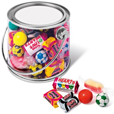 Branded Retro Sweets in a Midi Bucket