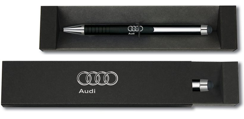 Branded Touch Pen with Ball-Point