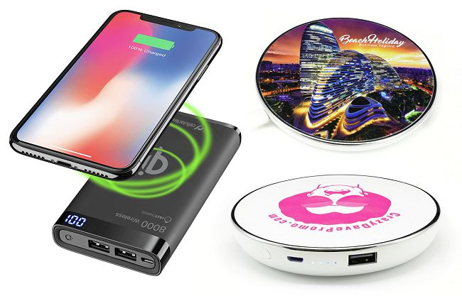 Branded Wireless Power Banks