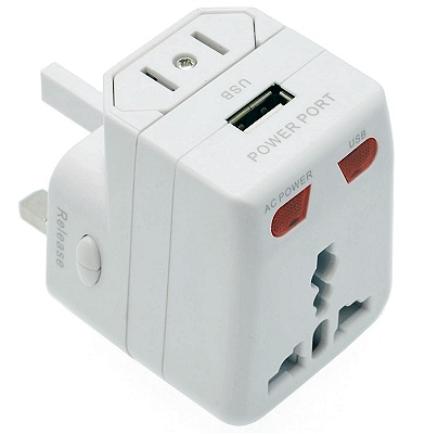 Bulk Buy Travel Adaptors with USB Charger