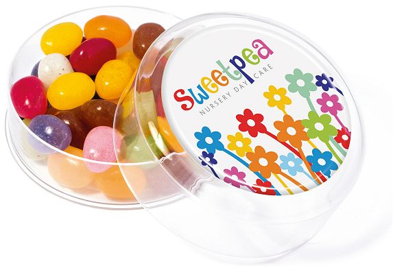 Jelly Beans Maxi Round Sweet Pot