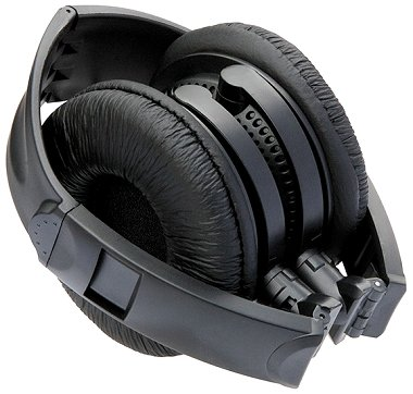 Custom Branded Headphones DJ Style Folding up