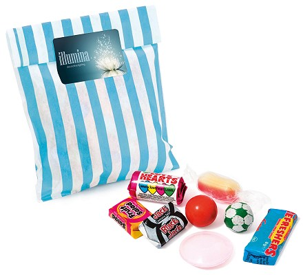 Custom Candy Bags Retro Sweets 60g
