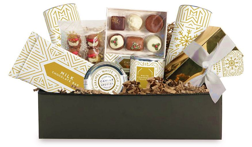 Custom Chocolate Hampers Maxi Sized contents