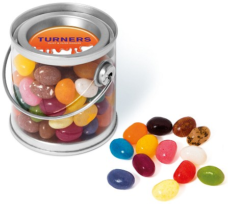 Promotional Jelly Beans in a Mini Bucket