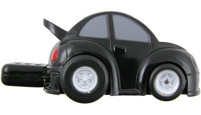 Car shaped customised memory stick side
