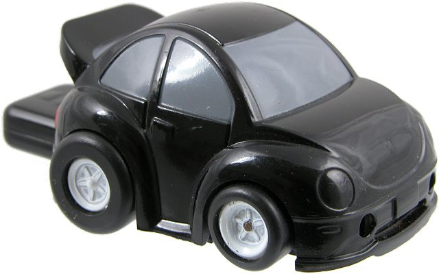Car shaped customised memory stick