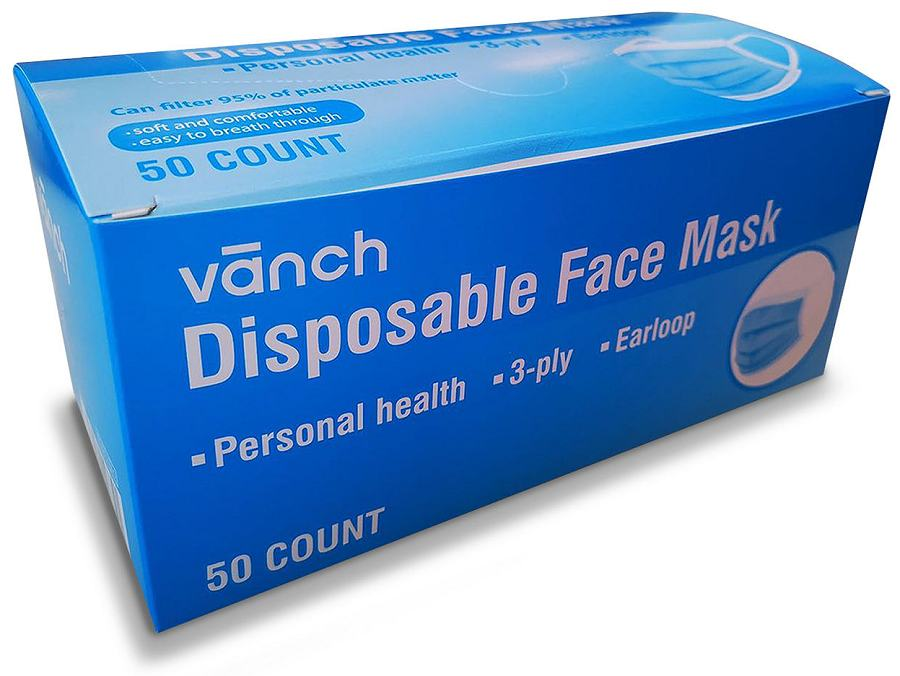 Face Mask box of 50