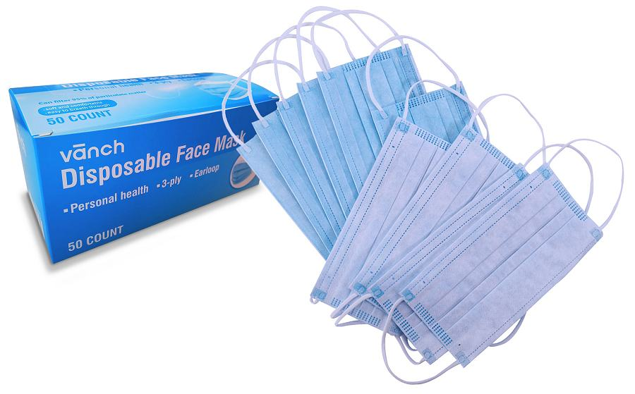 Disposable Face Masks Unbranded