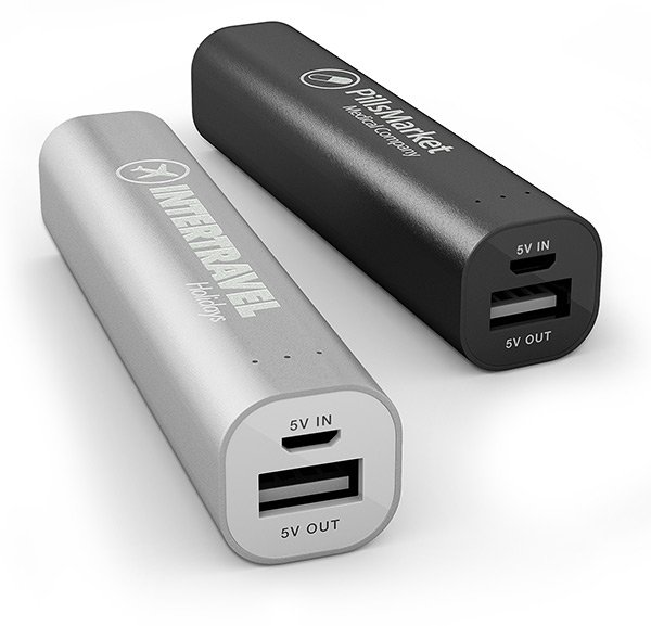 Engraved Power Bank Tube Deluxe