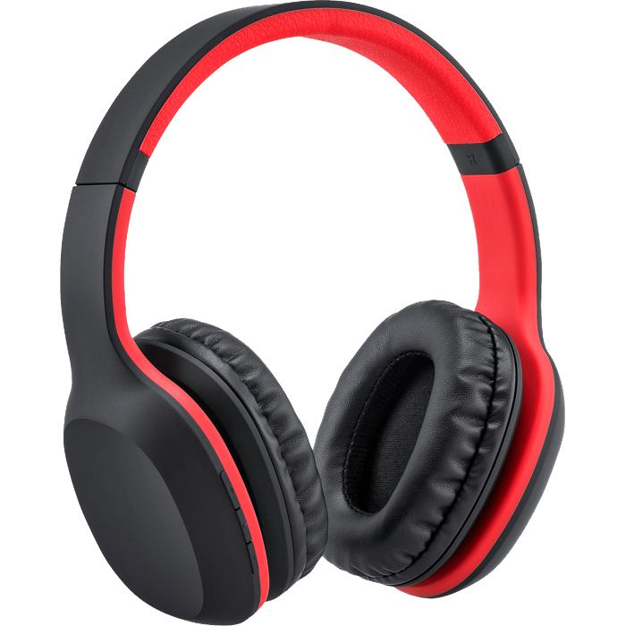 Company Branded Headphones Hi Colour Red