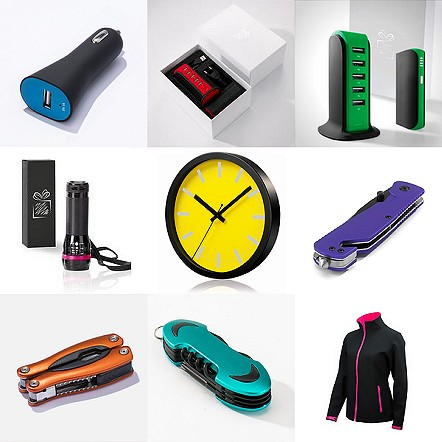 Yellow promotional products