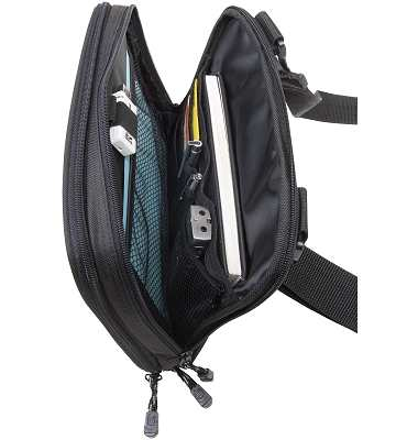 iPad Bag with ample room for books and iPad