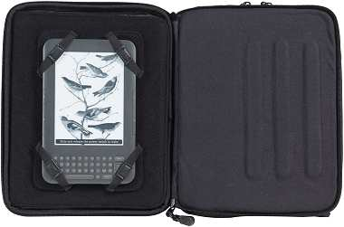 iPad Bag Promotional Gift with Kindle reader and movable corner straps