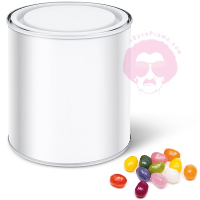 Jelly Bean Paint Tin Calendar Wrap with blank wrap for logo customisation