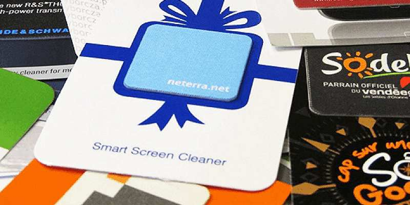 Logo Branded Mobile Phone Screen Cleaner