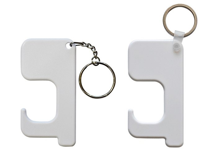 Polymer germ free keyring options