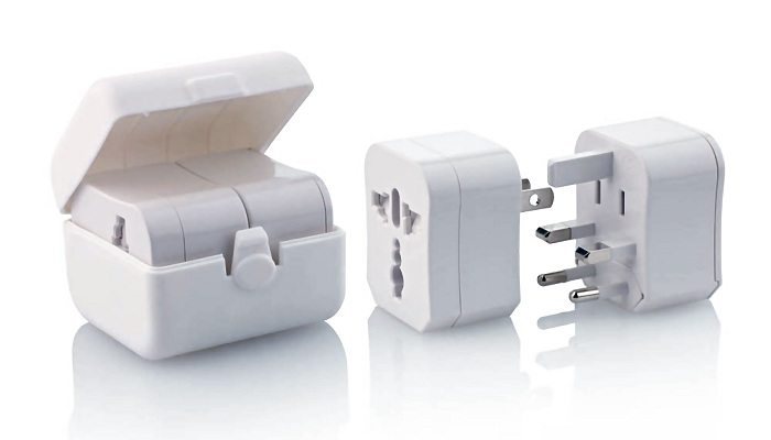 Logo Branded International Travel Adaptor