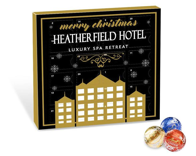 Mini Lindt Balls Advent Calendar Corporate Gift