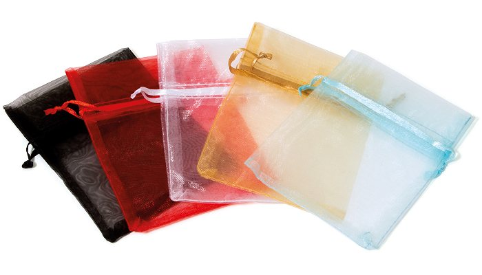 Organza Bagz colours