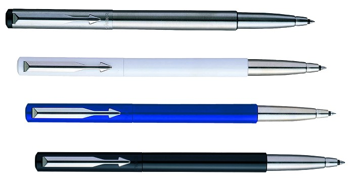 Parker Vector Rollerball colour selection
