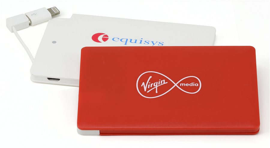 Promo Power Bank Credit Card Sized