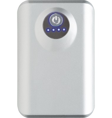 Power Bank for iPad & Tablets  silver front